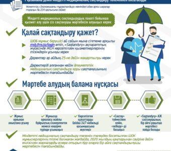 КАЗ Алгоритм присвоения однократного временного статуса застрахованного работникам МСБ
