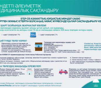 КАЗ Как застраховаться в системе ОСМС, если вы работаете по договору ГПХ
